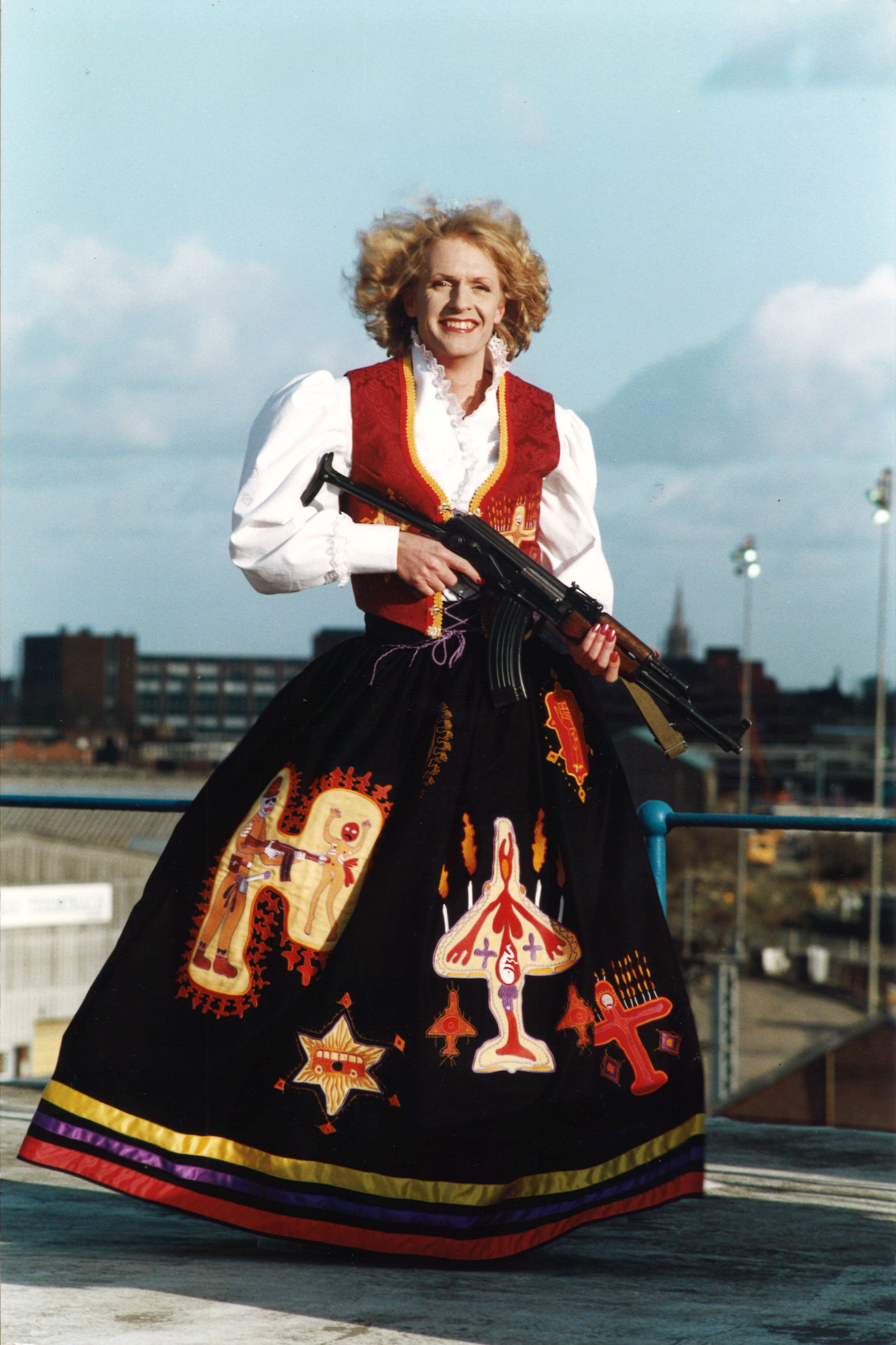 Grayson Perry, Claire as The Mother of All Battles, 1996 | Grayson ...