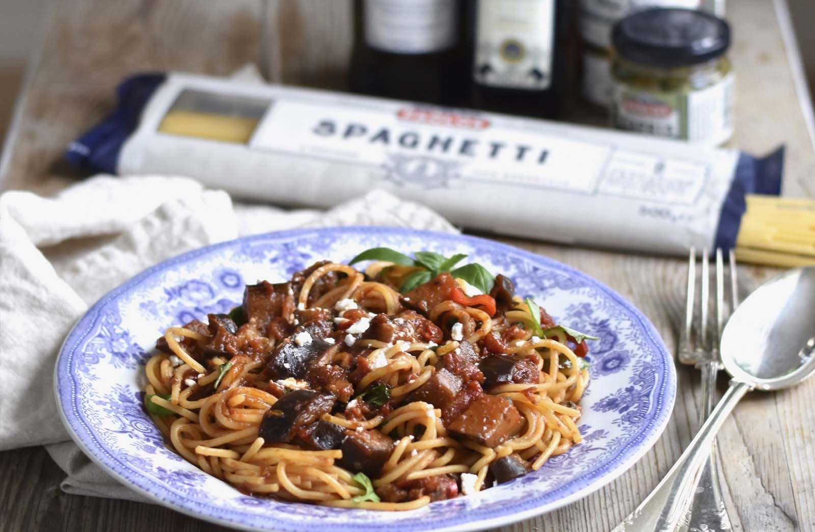 Spaghetti Alla Norma I 2020 Italiensk Mat