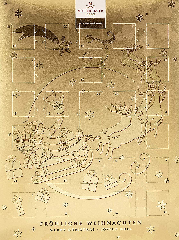 Niederegger Adventskalender Nougat, 1er Pack (1 x 500 g ...