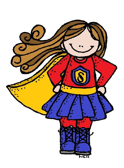 Super Heroes With Images Free Clip Art Clip Art Melonheadz