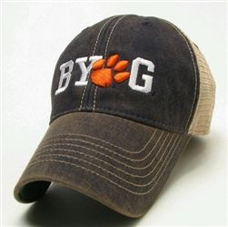 Clemson Tigers BYOG Legacy Old Favorite Adjustable Mesh Hat ... 0639feeadf5