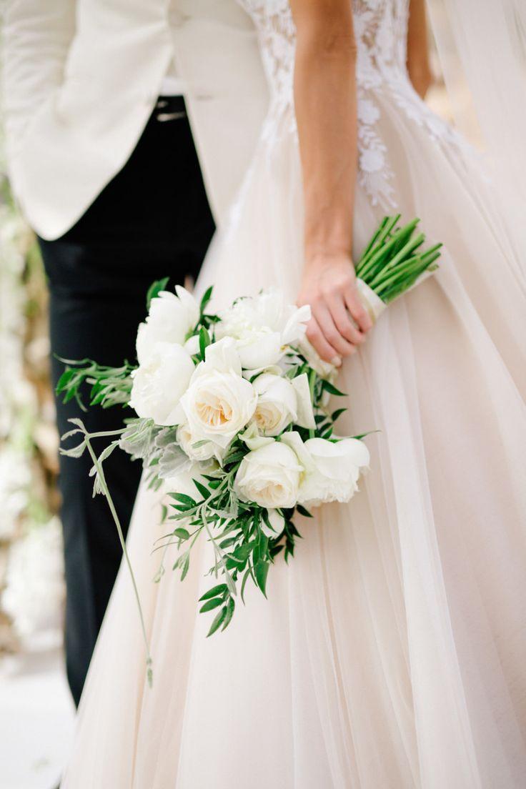 This Greek Wedding Is Total Floral Goals Greek Wedding Floral