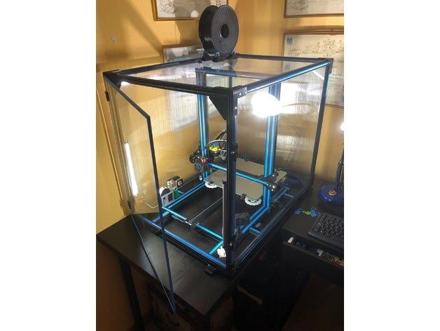 Enclosure for Creality CR-10 updated by Manolo1948