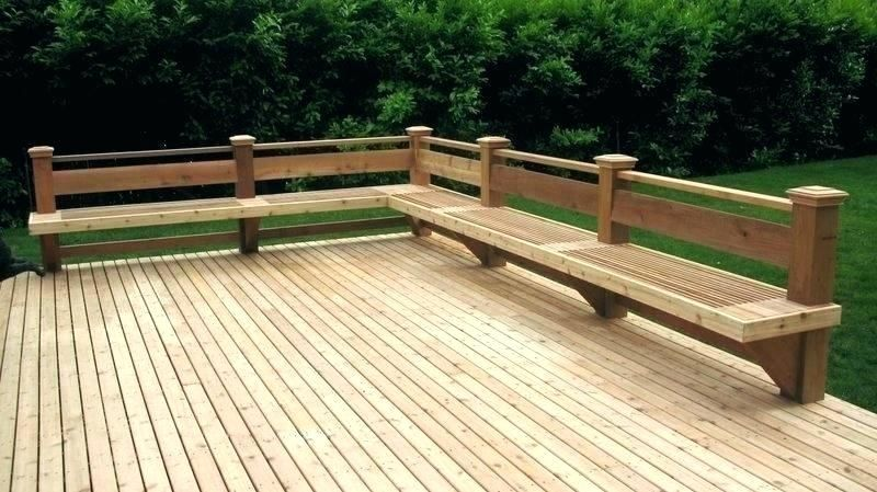 Bench Seating On Deck Wooden Deck Bench Plans Deck Bench Plans Free Plans For A Bench Deck Railing Seating Deck Bench Decks Backyard Deck Bench Building A Deck