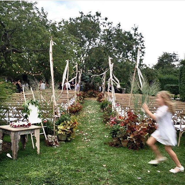 Sole East Resort In Montauk Garden Wedding Designed By Firefly Events Fls