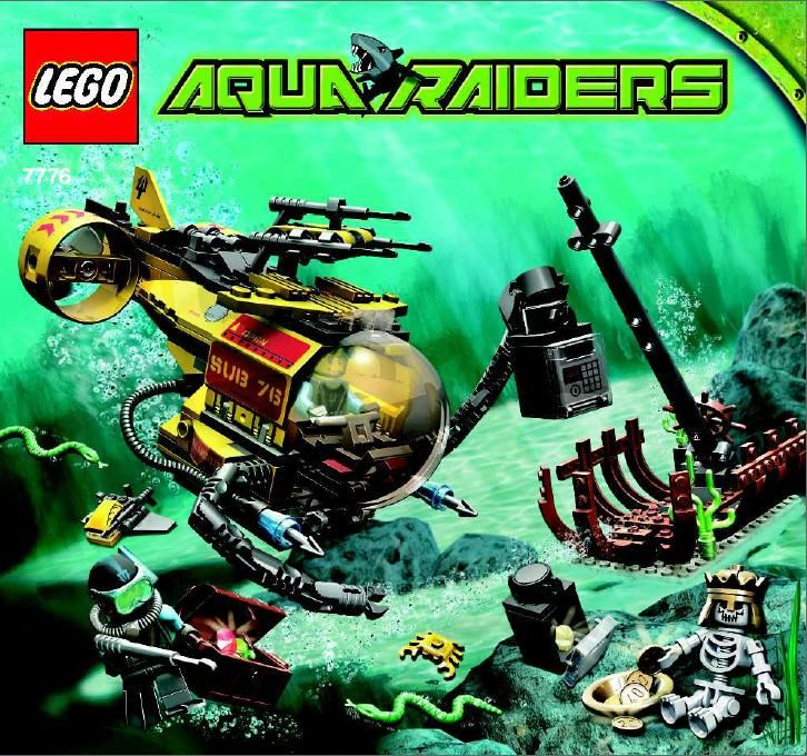 Aqua Raiders - The Shipwreck [Lego 7776] | Lego Sets of Epicness ...