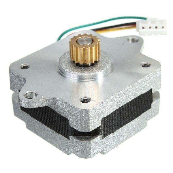 2 Phase 4 Wire 35 Stepper Motor 0.9 degree 20mm 3D printer ...