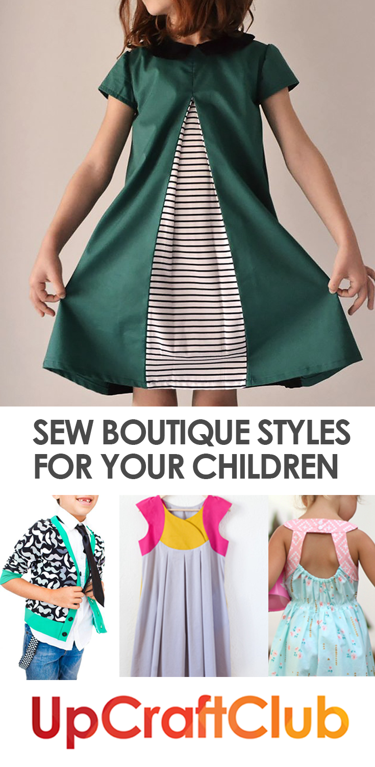 These sewing patterns from UpCraftClub.com will make you look like a ...