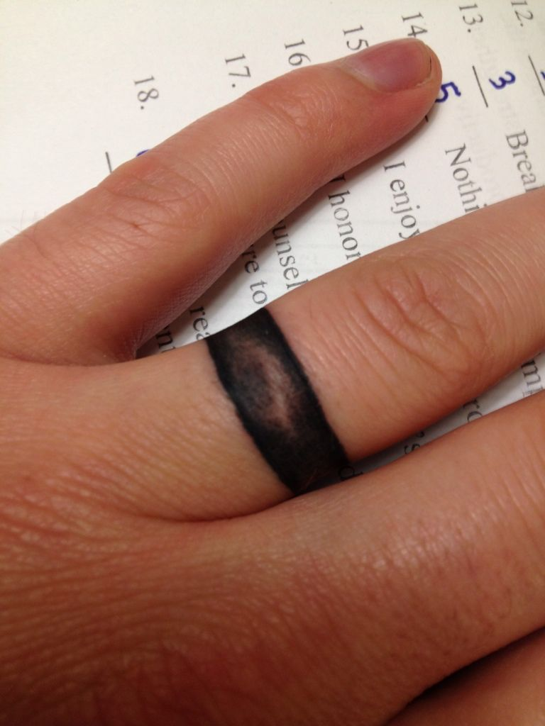 55 romantic wedding ring finger tattoo designs and ideas - 25 Awesome Wedding Ring Tattoos