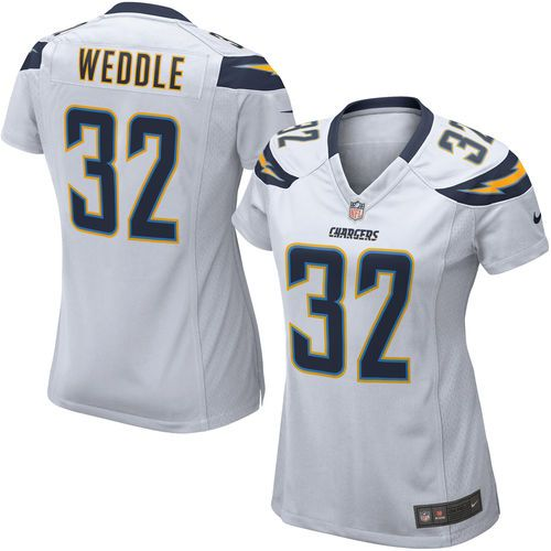 Eric Weddle San Diego Chargers Nike Women's Game Jersey – White ...