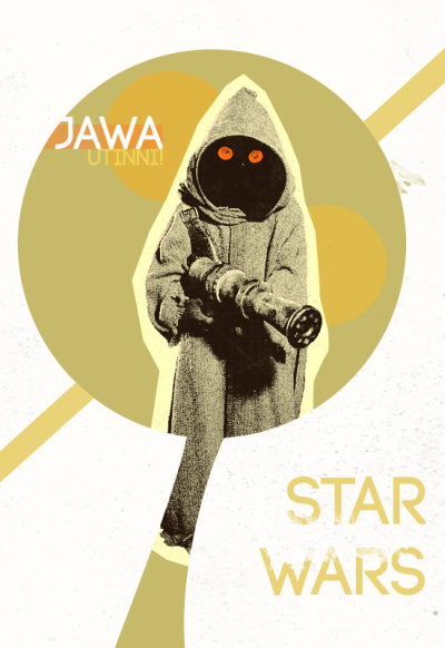 Star Wars Posters // by borsukart