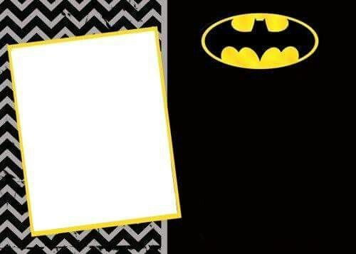 Free Printable Batman Birthday Invitations FREE