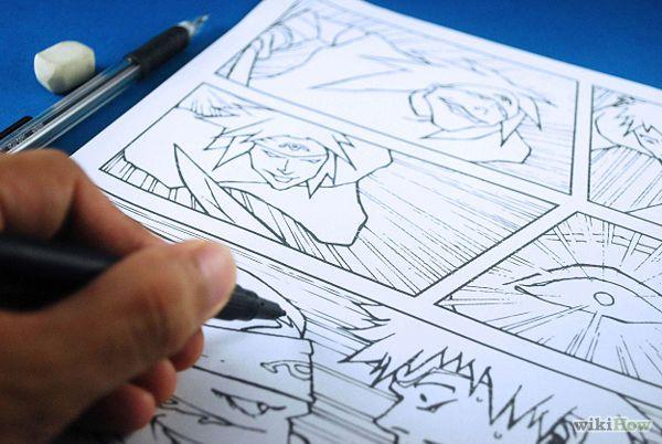 How To Make Manga Comic Books Comic Books Diy Comic Tutorial Comic Books