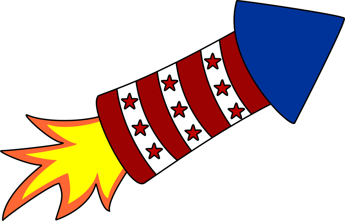 4th of july firecracker. Free graphics and clipart