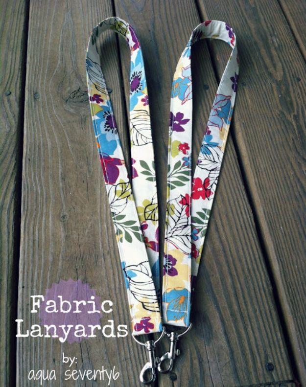 Fabric Lanyard