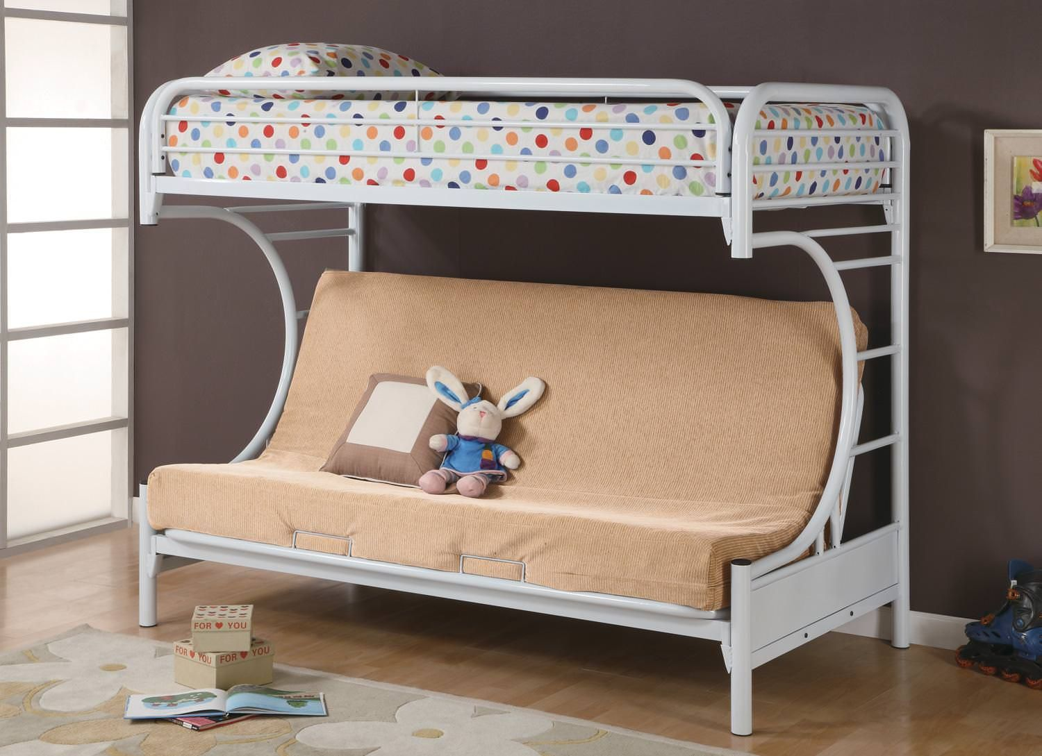 How to Decorate a Room with White Daybed Bed with desk