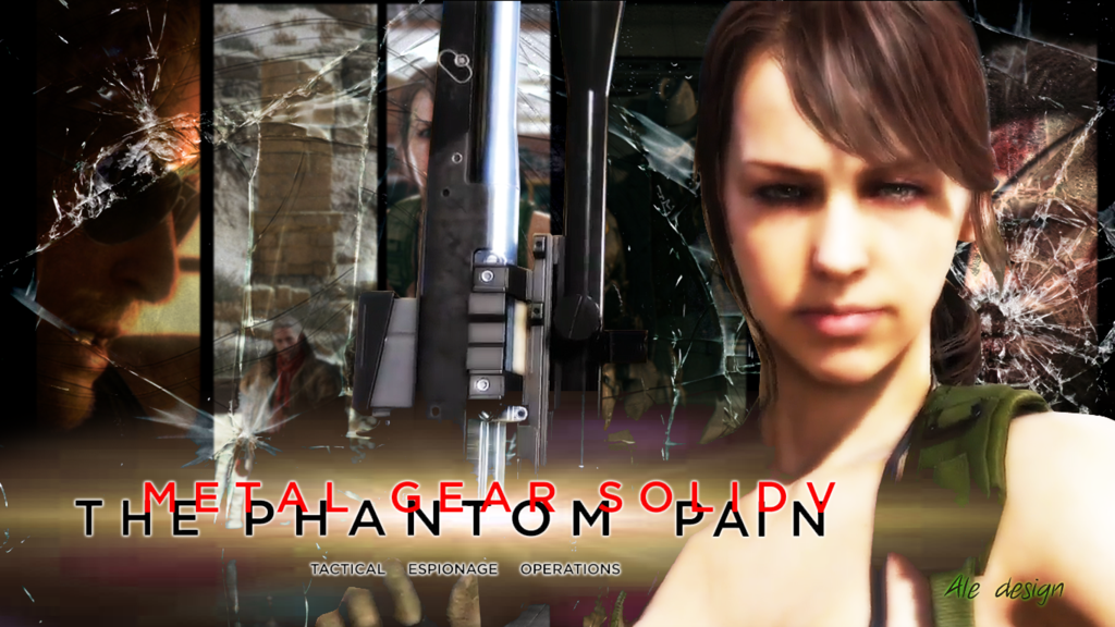 mgsv quiet wallpaper by on
