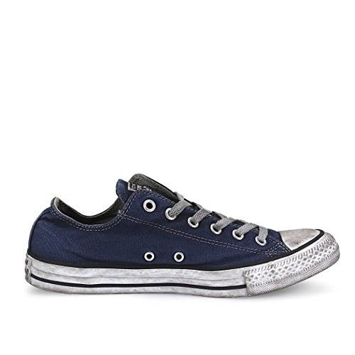 converse all star alte canvas blu