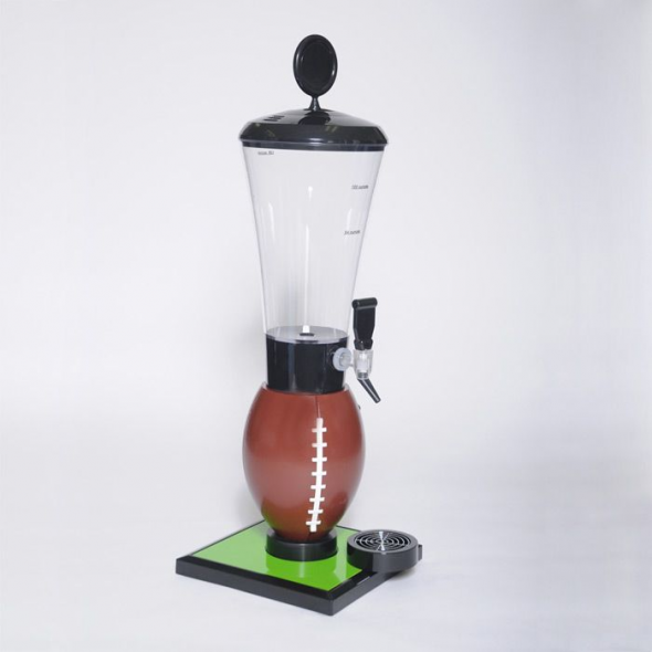 Photo of Football 128 oz. Beer Tube Tabletop Beverage Dispenser | Man Cave Kingdom #recre…
