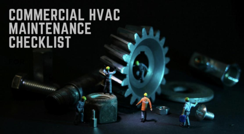 Commercial HVAC Maintenance Checklist Compressors
