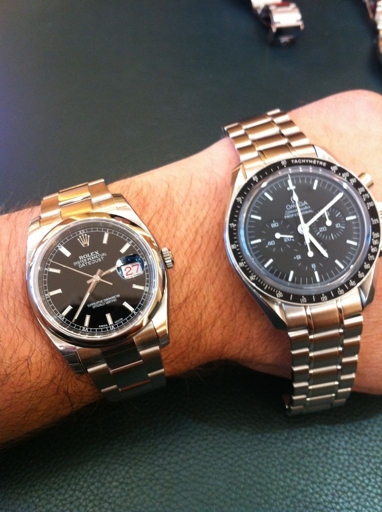 Pin on Watches etcRolex Datejust 36mm On Wrist