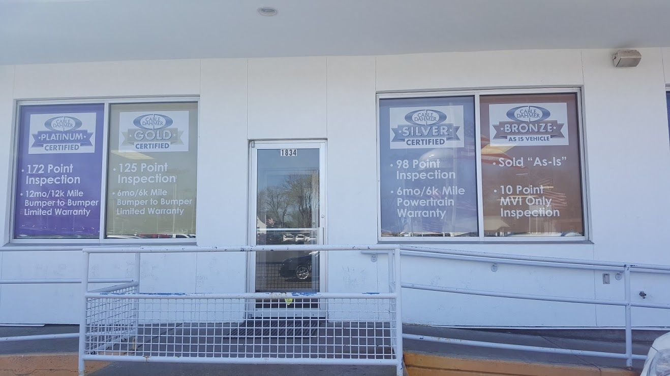 Did You Notice We Changed Our Front Few What Is New At Cable Dahmer Chevrolet In Pre Owned 10 Things Outdoor Decor