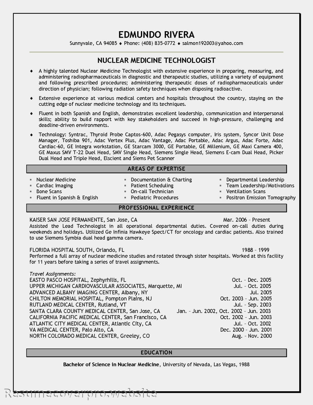 medical technologist microbiology resume sample nuclear medicine cover letter livecareer - Medical Technologist Resume Examples
