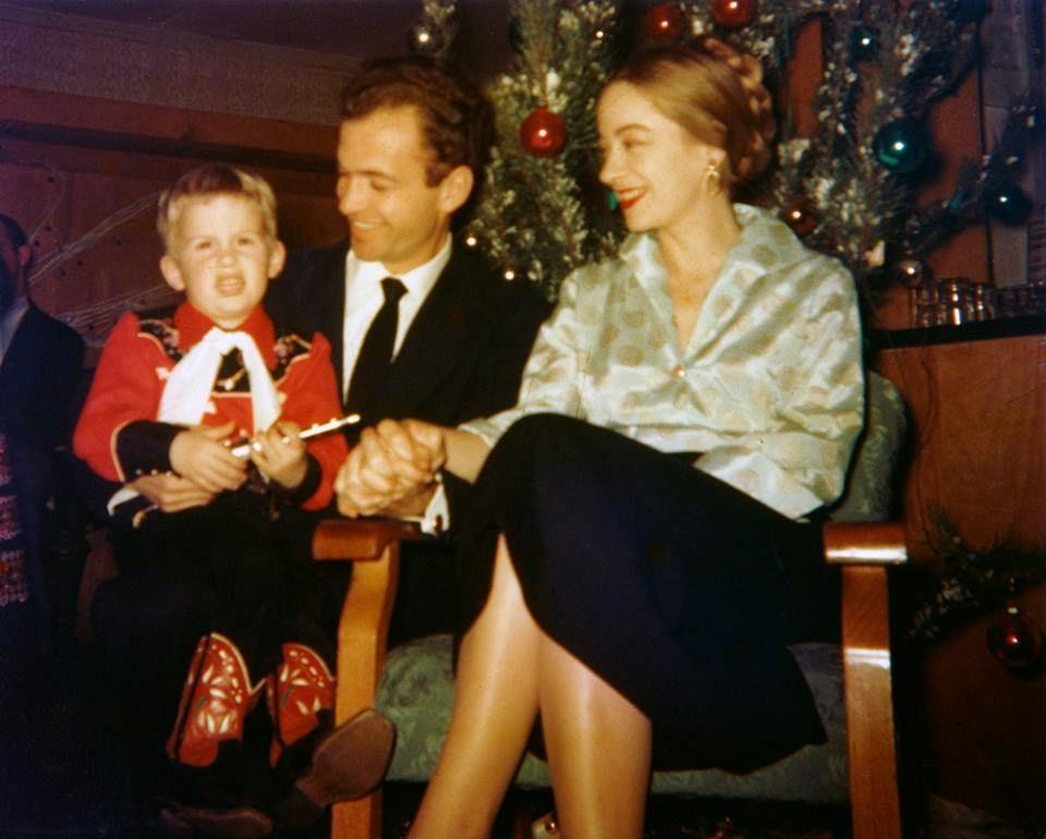 Los Modlin en Navidad.
