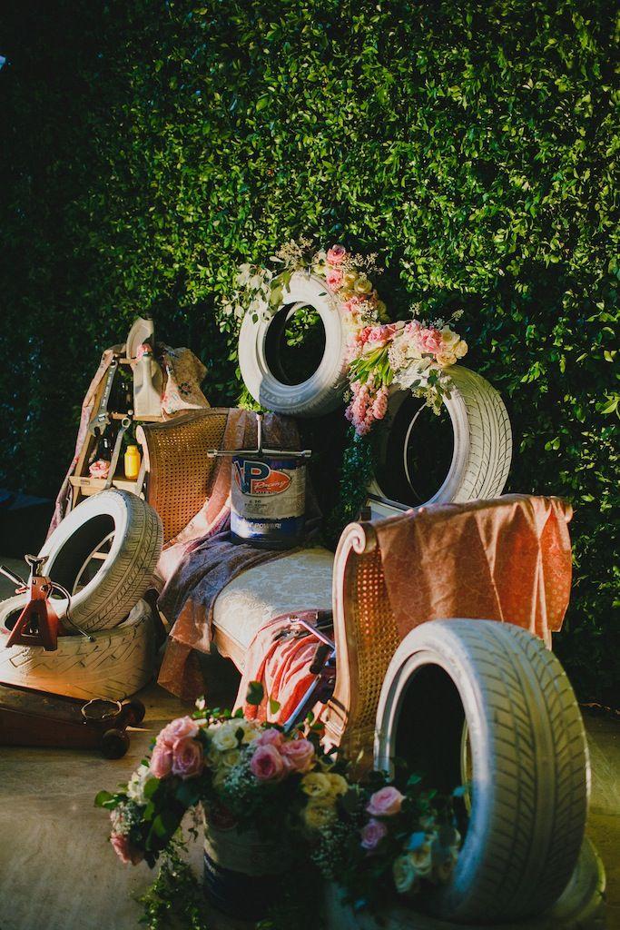 Dekorasi Resepsi Tema Otomotif Www Thebridedept Com Wedding Decorations Weddings Bride