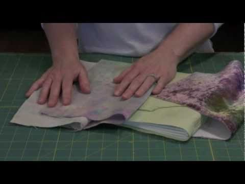 Making A Fabric Covered Book (using Lutrador)