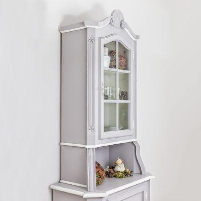 Una piccola credenza con vetrina all inglese diventata - Una casa da amare ...