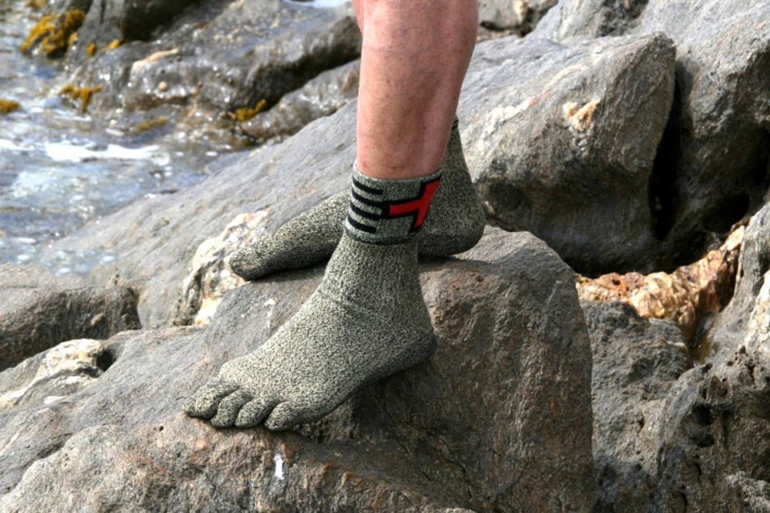 e00faf0c These ridiculously tough socks are made from a material that's stronger  than steel