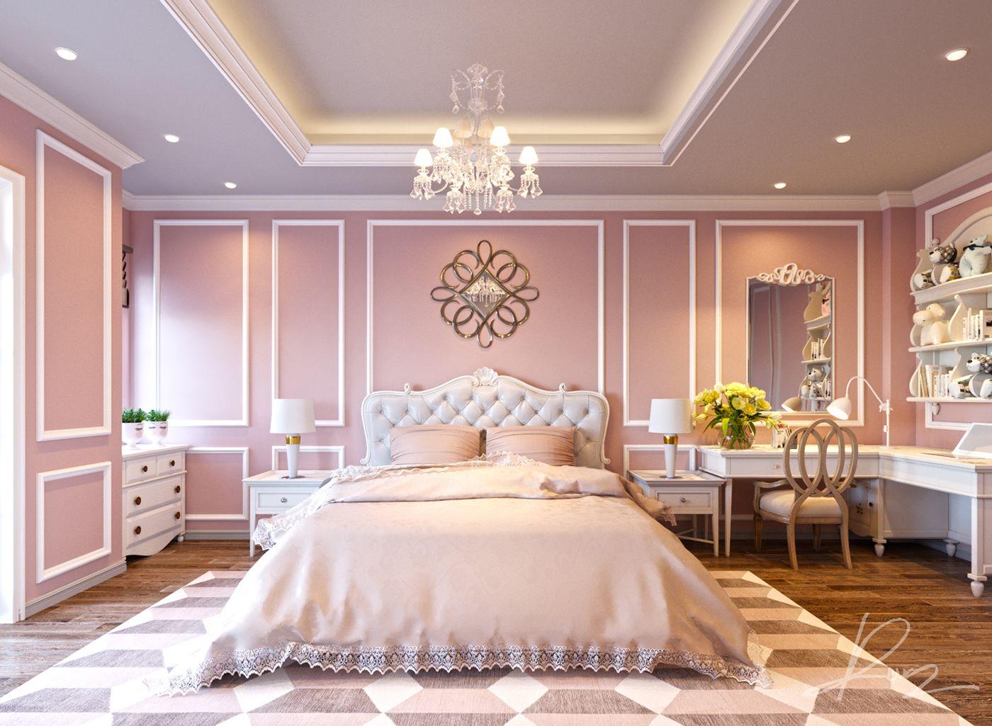 Bedroom Classic On Behance Luxurious Bedrooms Classic Bedroom Bedroom Design Styles Luxury elegant teen bedroom