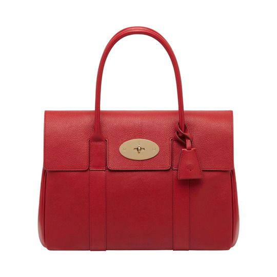 Mulberry Bayswater Shoulder Bag In Poppy Red
