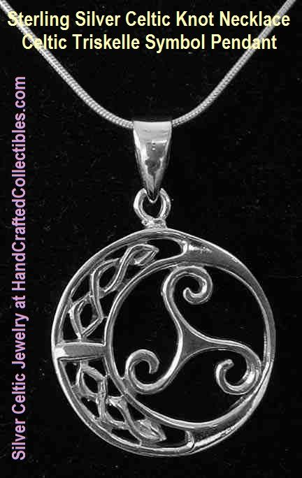 Sterling silver celtic knot necklace this and all other silver sterling silver celtic knot necklace this and all other silver celtic necklaces come with a choice mozeypictures Image collections