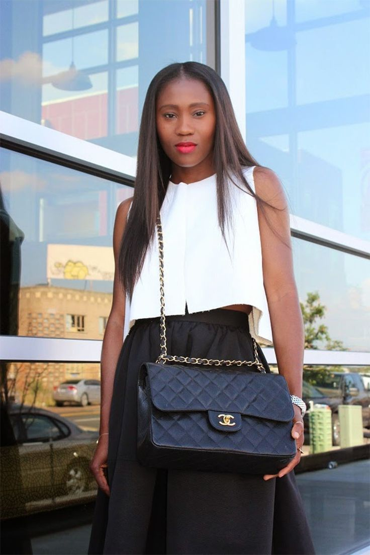 cc068c15852ebc What's in Ranti Onayemi's Chanel classic flap bag? | Outfit Ideas ...