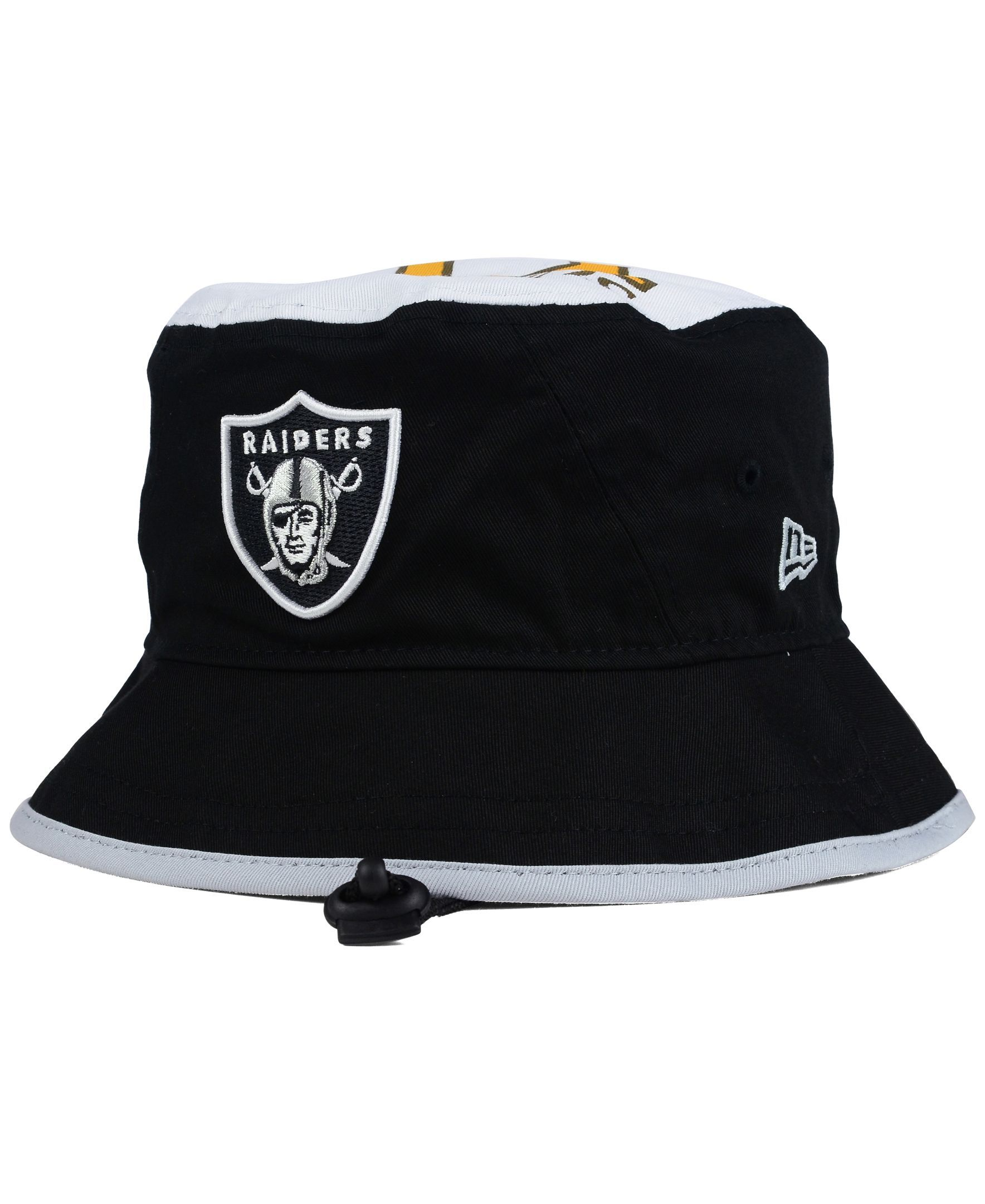 34b1866e97404 ... sale new era oakland raiders traveler bucket hat 971e1 478ef