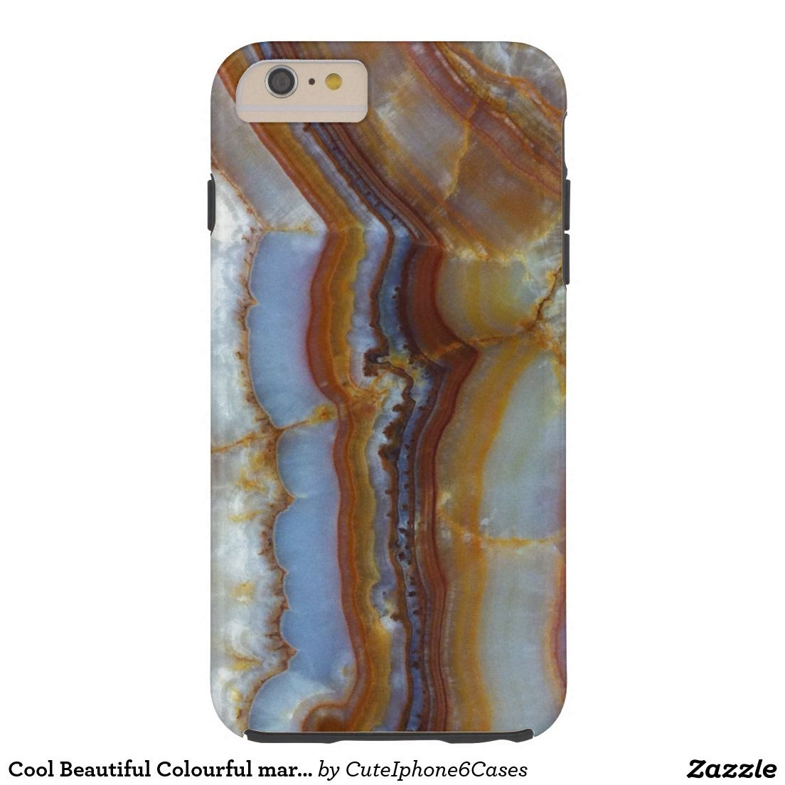 Cool Beautiful Colourful marble pattern Case Cover