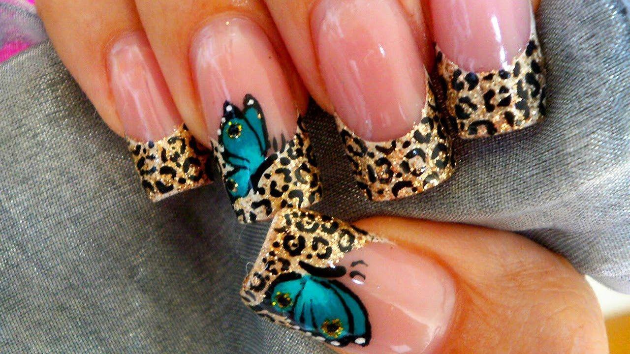 Hermosos diseños de mariposas para uñas | mariposas | Pinterest ...