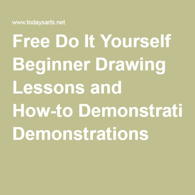 Free do it yourself beginner drawing lessons and how to free do it yourself beginner drawing lessons and how to demonstrations solutioingenieria Image collections