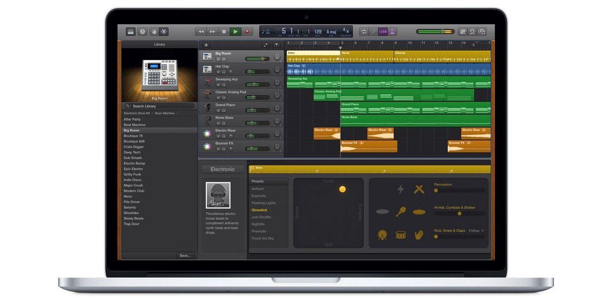 GarageBand for Mac now works with Music Memos & Logic