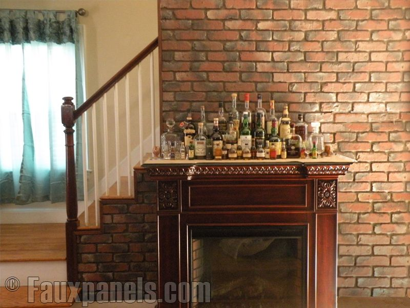 Brilliant Faux Brick For Interior Walls Old Chicago Brick Perfectly Mimics Inspirational Interior Design Netriciaus