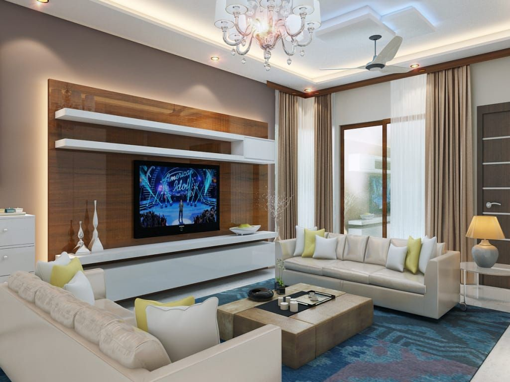 Independent Villaâ Pune Modern Living Room By Decor Dreams Mo