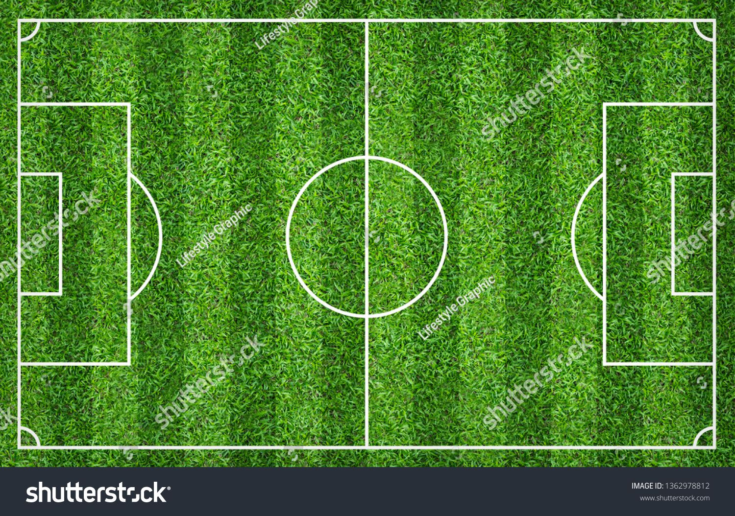 Football Field Or Soccer Field For Background Green Lawn Court For Create Soccer Game Ad Ad Soccer Background Footba Football Field Soccer Field Soccer