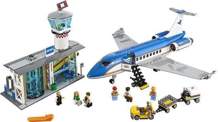 Lego city pesawat plus bandara airport   Lego city airport ...