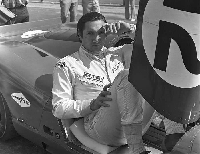 Ferrari 312 P in the 1969 CanAm series, Pedro Rodriguez