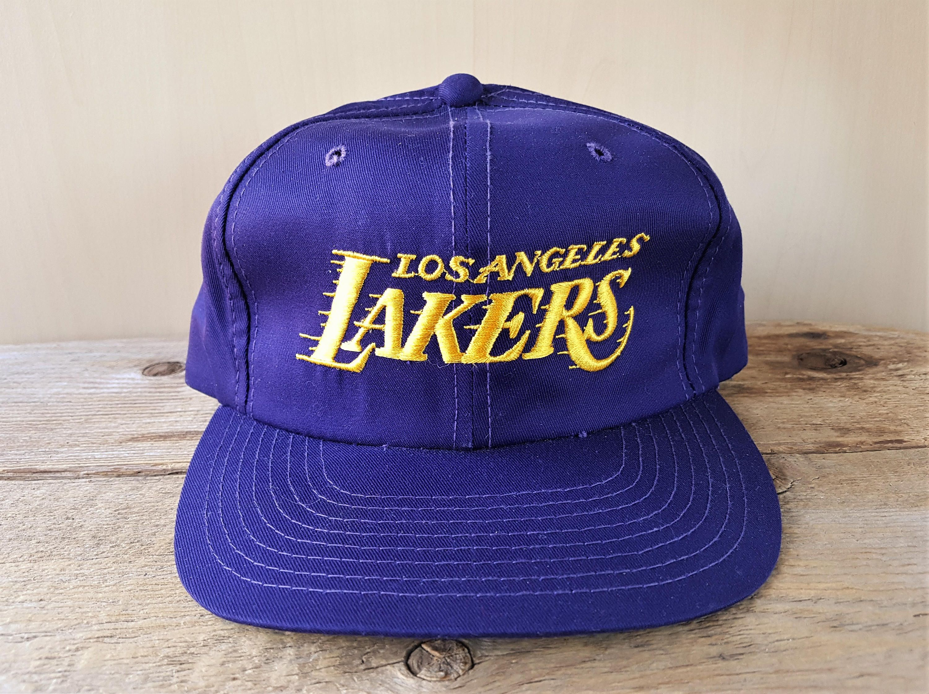 Vintage 80s Los Angeles Lakers Snapback Hat Macgregor Sports Specialties The Twill Official Licensed Nba Basketball T In 2020 Lakers Hat Nba Basketball Teams Sport Hat