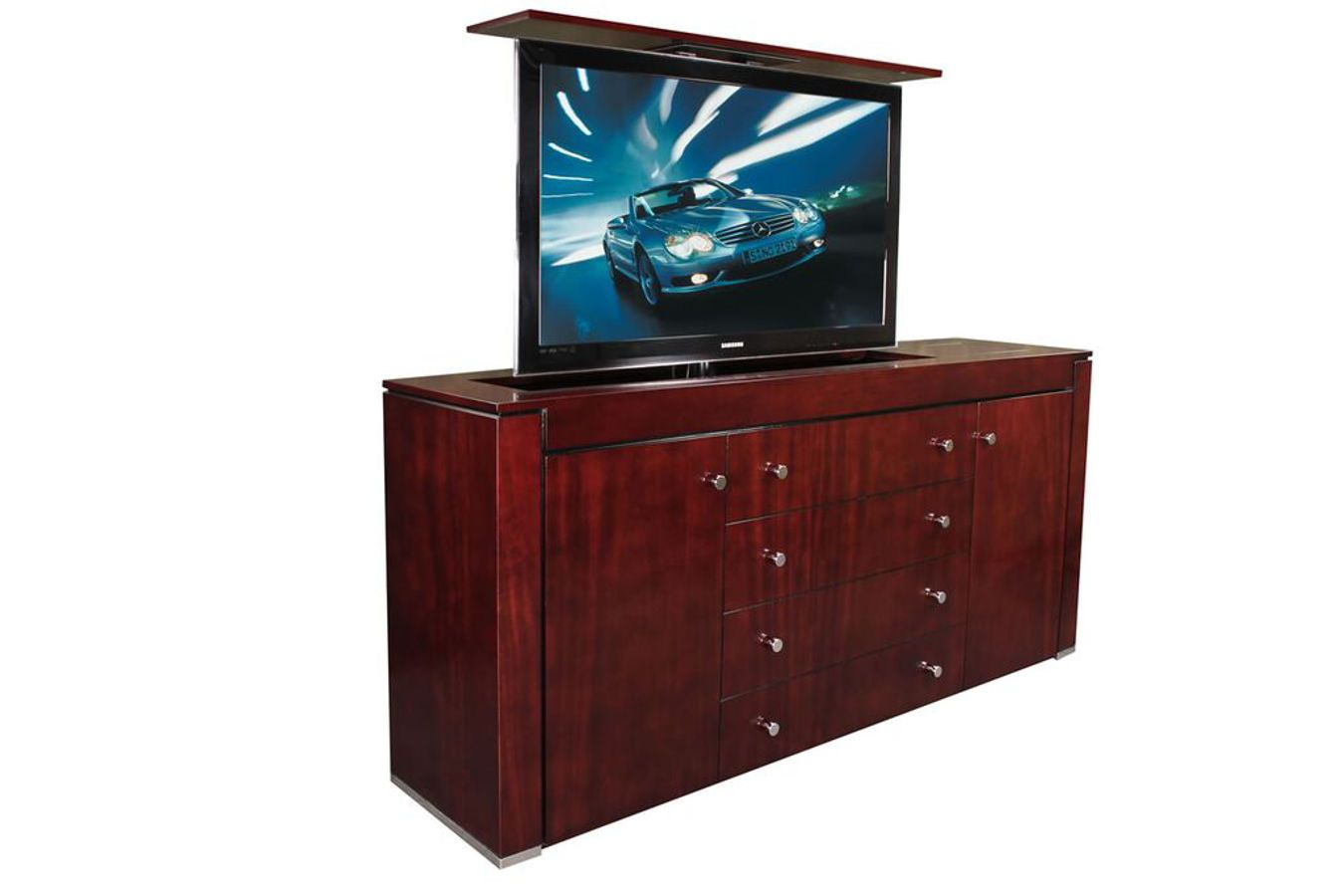 Pop Up Tv Lift Modern Furniture Fits Up To Some 65 Inch Flat