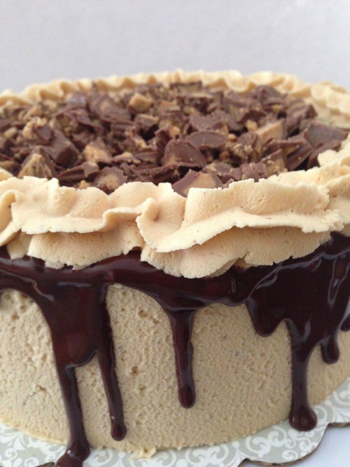 sweet savory tastings reese cup cake cake please pinterest