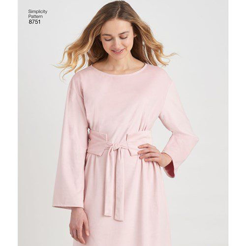 0499be98e8 S8751 Misses' Dress with Options for Design Hacking #simplicitypatterns # sewingpattern